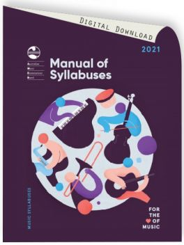 2021 Manual of Syllabuses (complete download)
