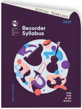 2021 Recorder Syllabus