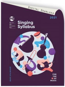 2021 Singing Syllabus