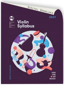 2021 Violin Syllabus