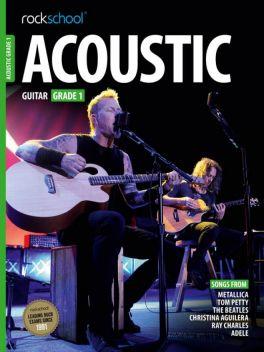 Rockschool Acoustic Guitar Grade 1 2012-2018