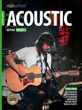 Rockschool Acoustic Guitar Grade 3 2012-2018