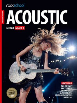 Rockschool Acoustic Guitar Grade 4 2012-2018