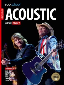 Rockschool Acoustic Guitar Grade 5 2012-2018