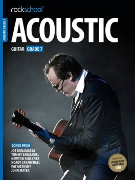 Rockschool Acoustic Guitar Grade 7 2012-2018