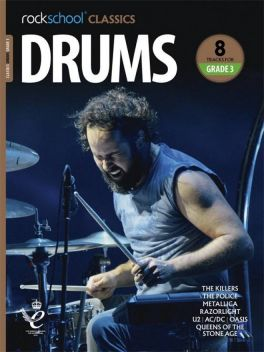Rockschool Classics Drums Grade 3