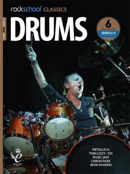 Rockschool Classics Drums Grade 6-8