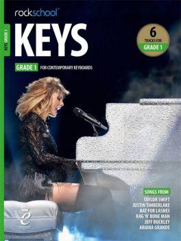 Rockschool Keys Grade 1