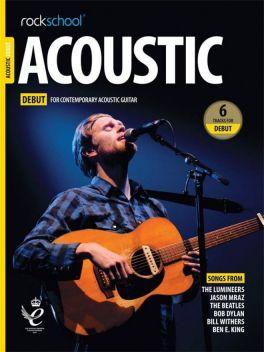 Rockschool Acoustic Guitar Debut 2019+