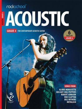 Rockschool Acoustic Guitar Grade 4 2019+
