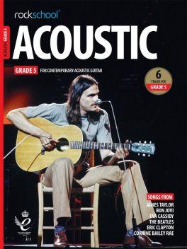 Rockschool Acoustic Guitar Grade 5 2019+