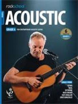 Rockschool Acoustic Guitar Grade 6 2019+