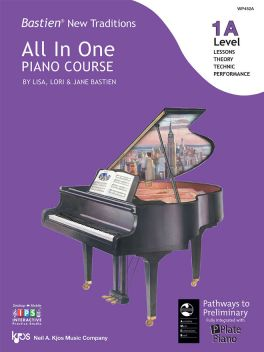 Bastien New Traditions All in One Piano Course Level 1A
