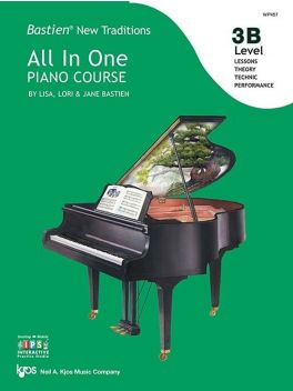 Bastien New Traditions All in One Piano Course Level 3B