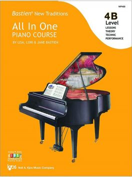 Bastien New Traditions All in One Piano Course Level 4B