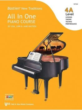 Bastien New Traditions All in One Piano Course Level 4A